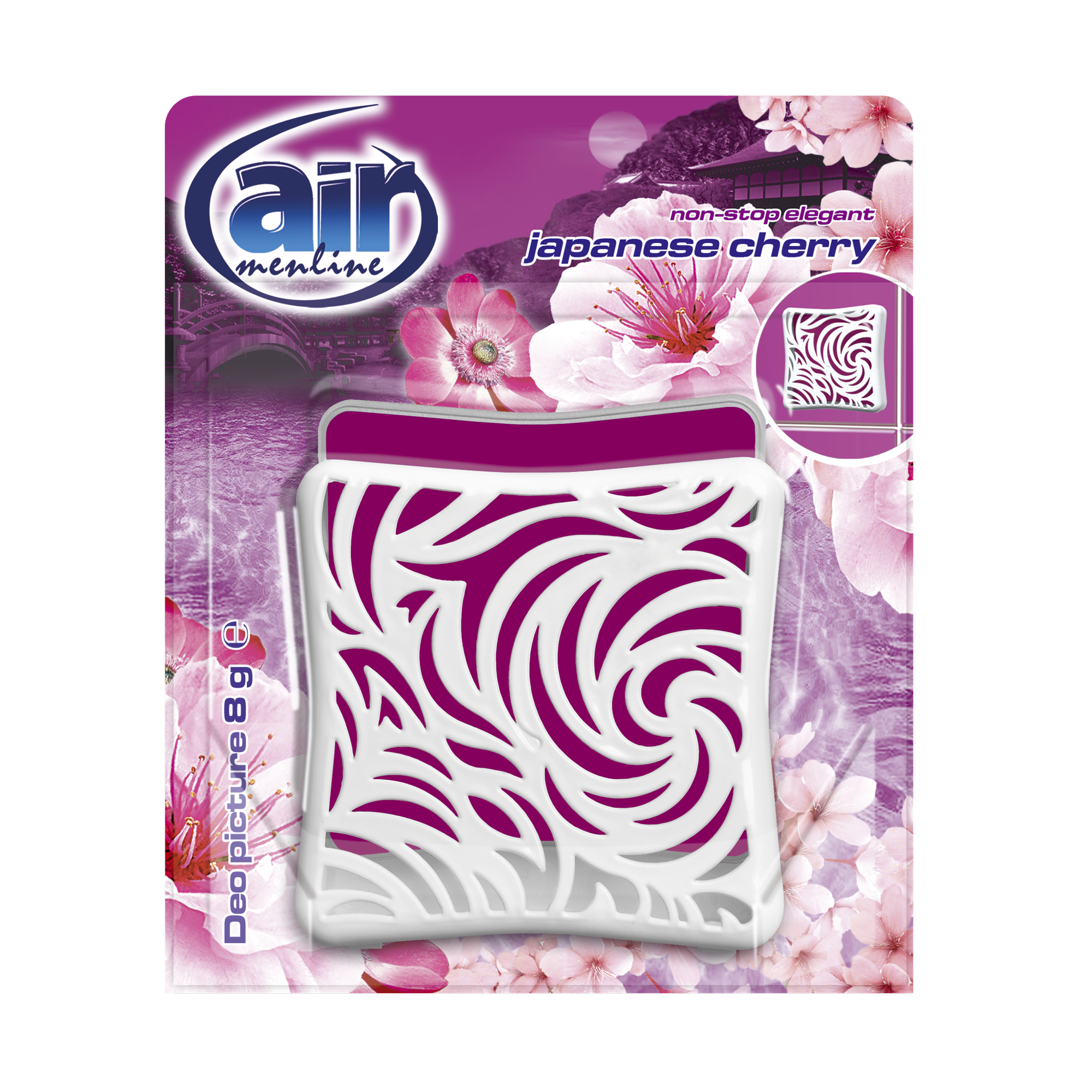 AIR menline deo picture air freshener Japanese Cherry