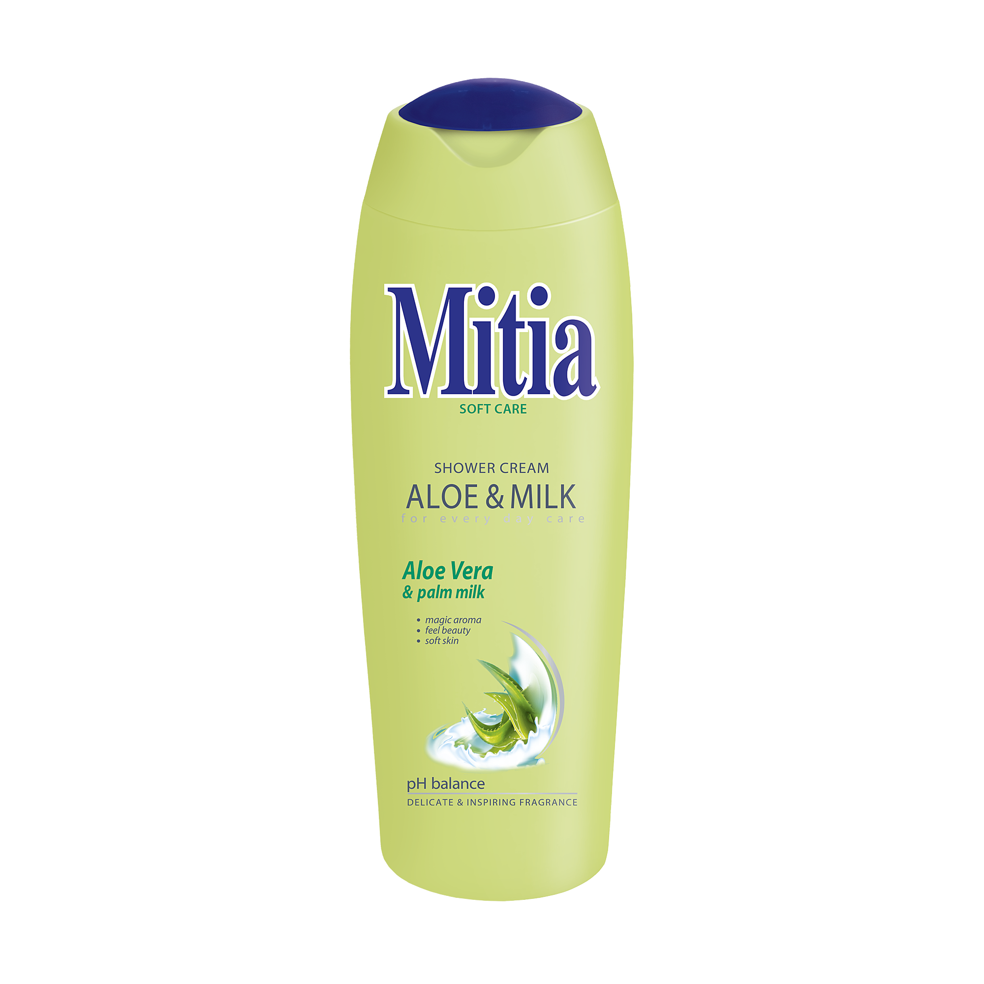 Mitia gel de duş Aloe & Milk