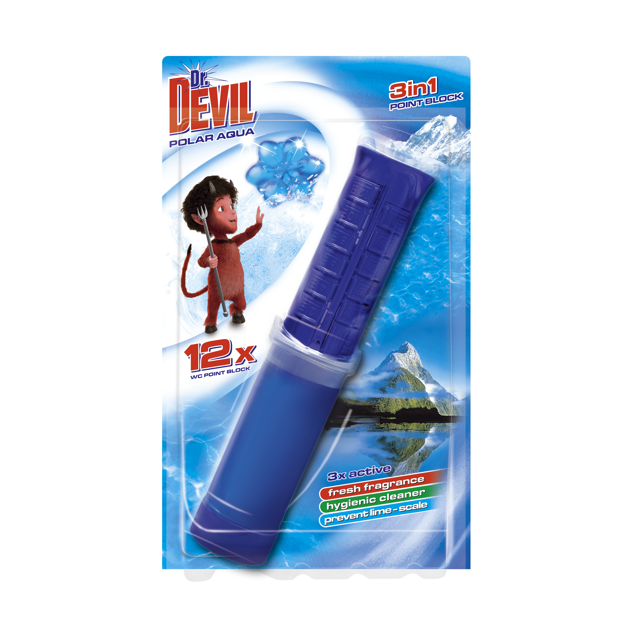 Dr. Devil 3in1 Point block Polar Aqua