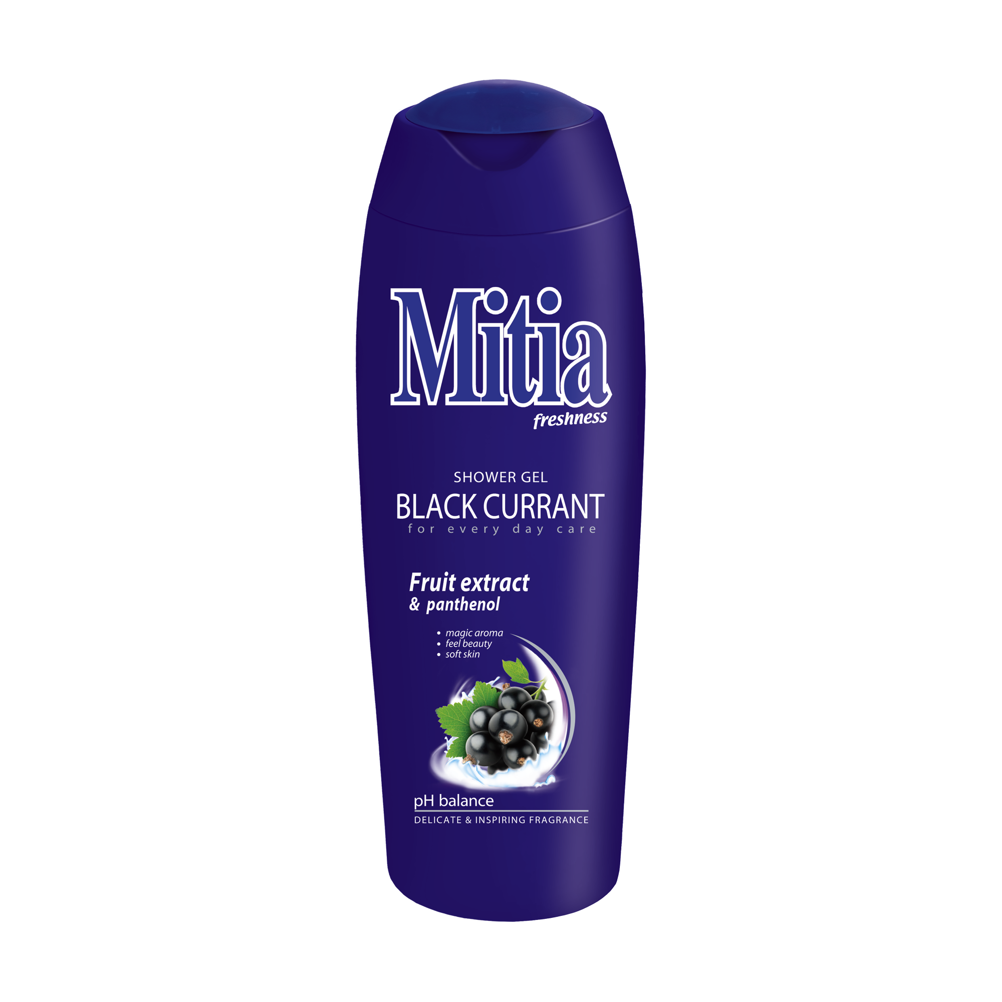Mitia freshness Black Currant shower gel