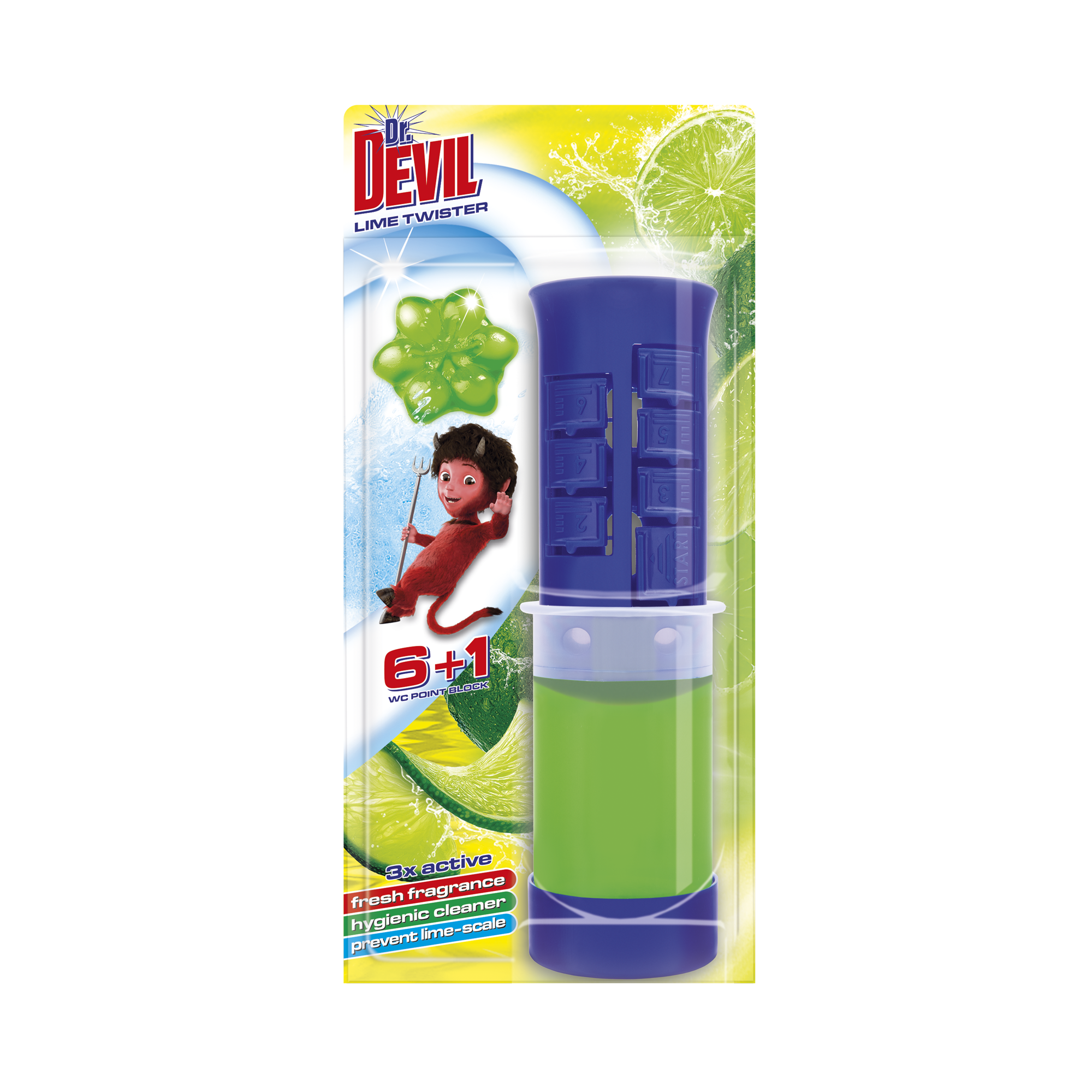 Dr. Devil 3in1 WC Point block Lime Twister