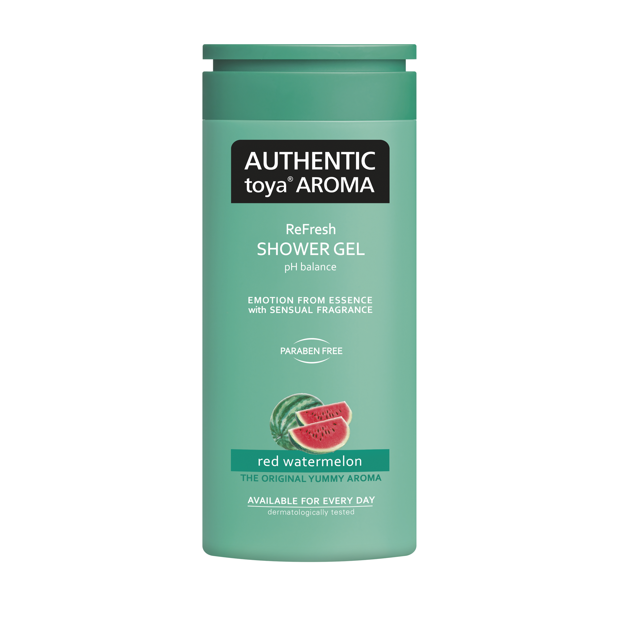 AUTHENTIC toya AROMA red watermelon shower gel
