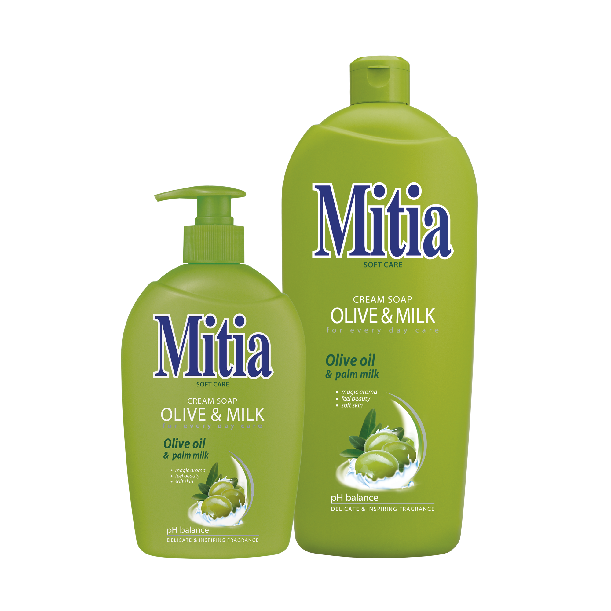 Mitia Olive & Milk liquid soap