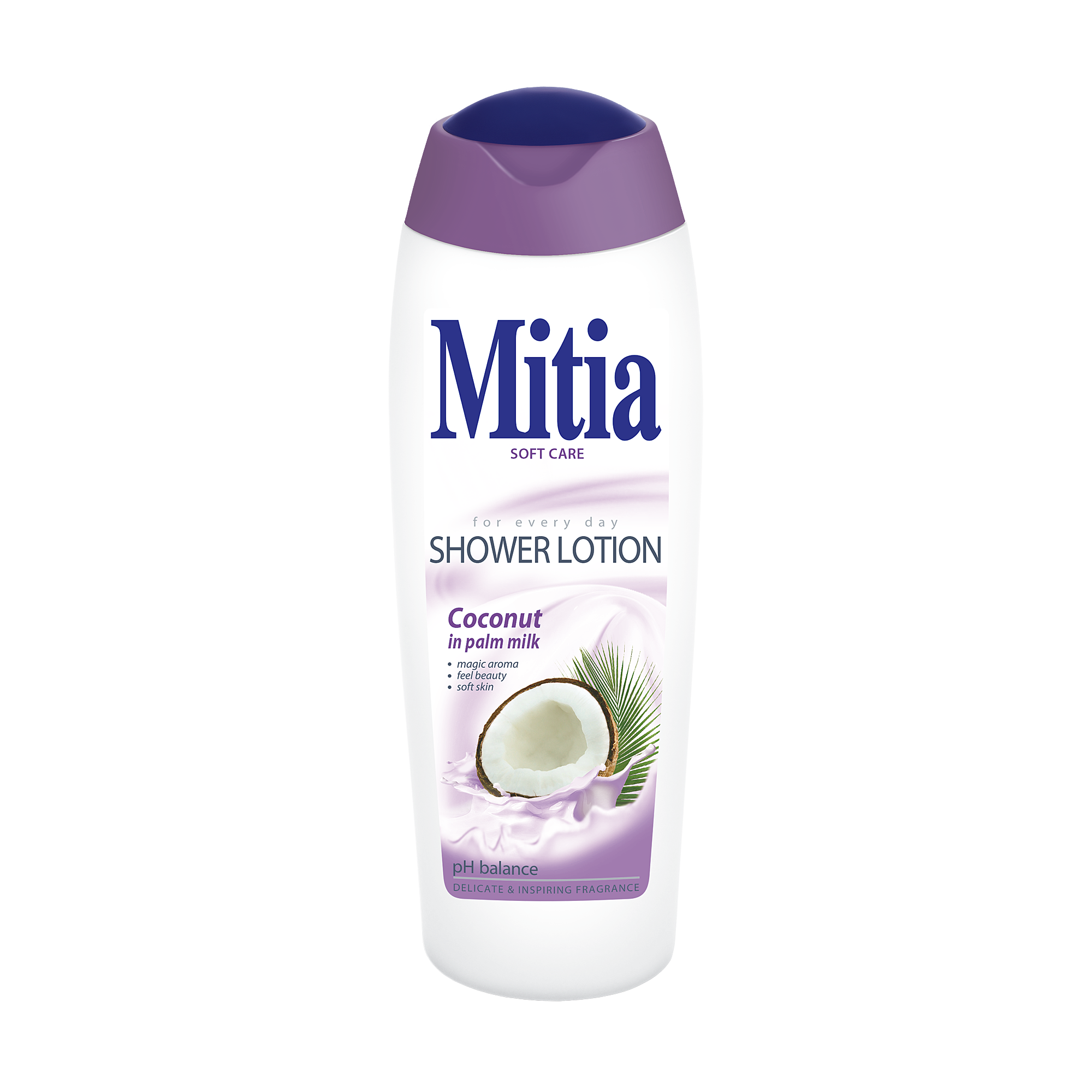 Mitia Coconut in palm milk shower milk