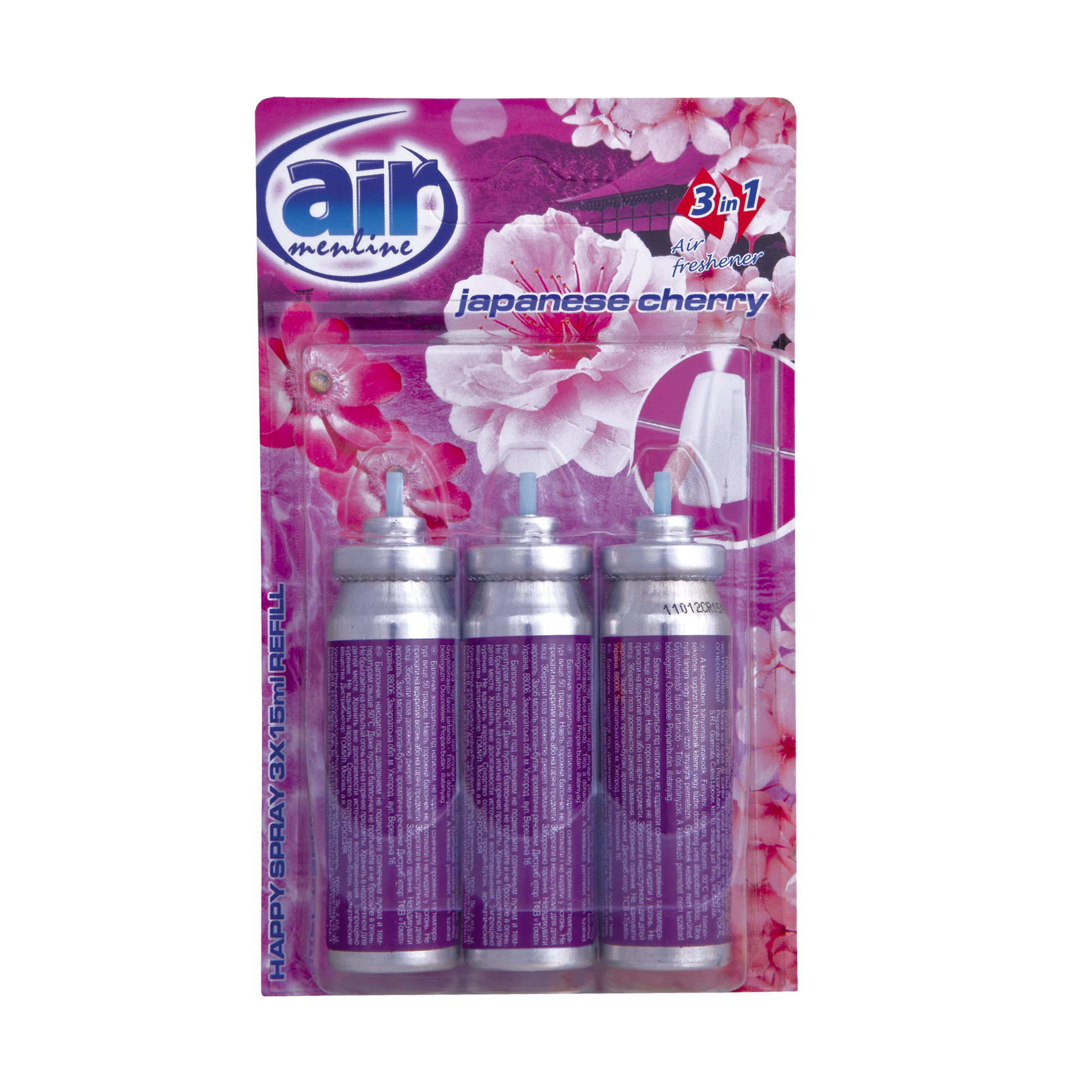 Air menline pulverizatorul Happy spray Japanase Cherry - refill