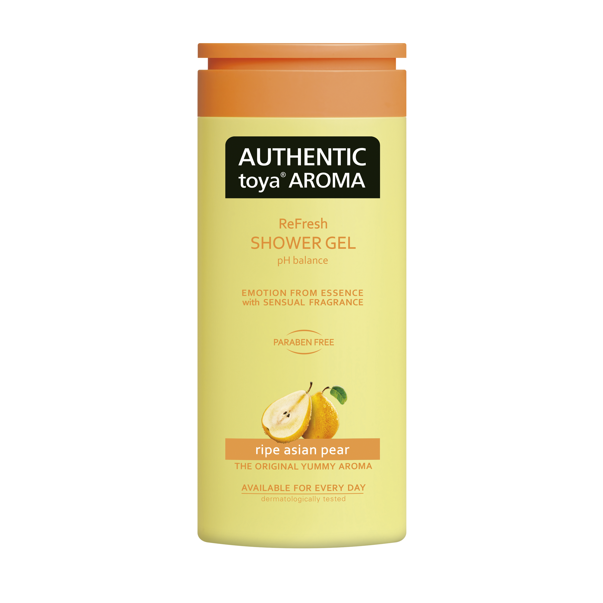 AUTHENTIC toya AROMA ripe asian pear shower gel