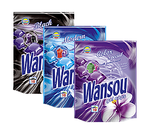 Wansou concentrated gel detergent capsules