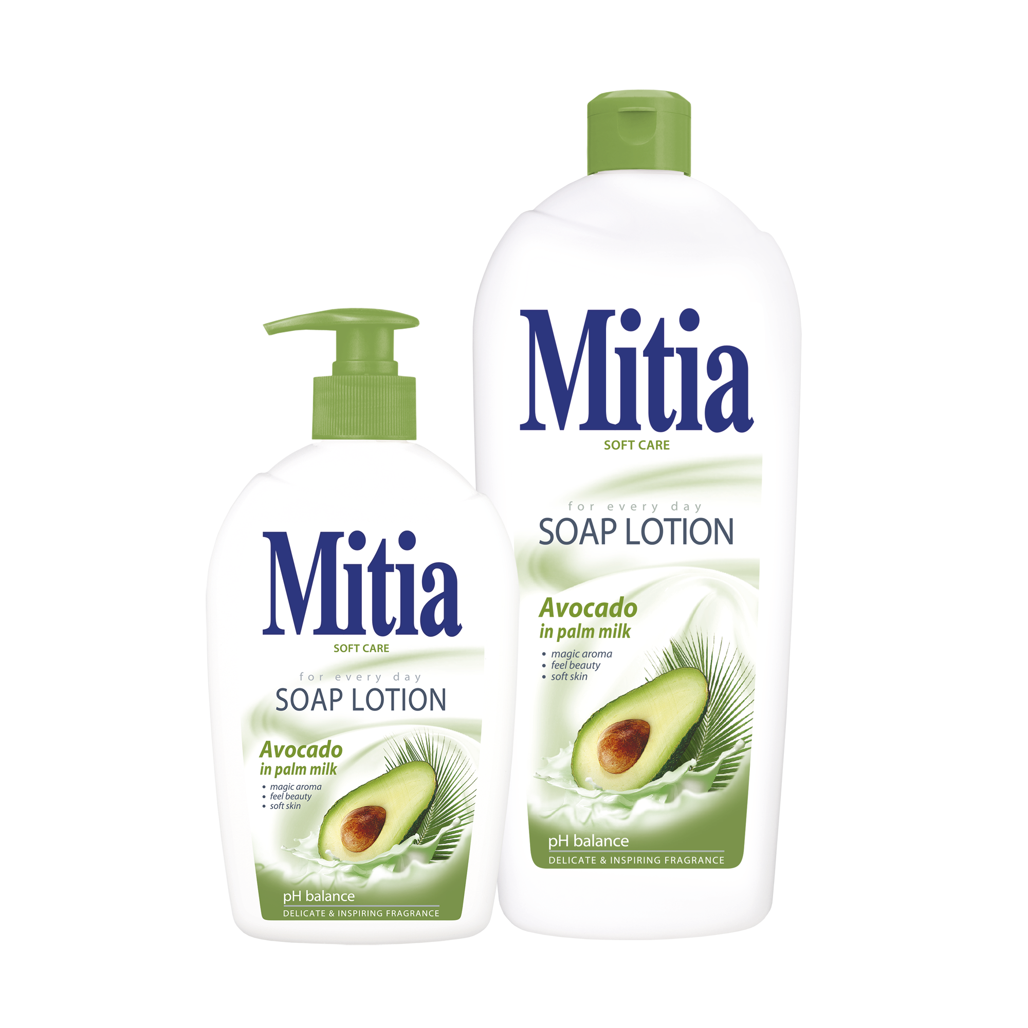 Mitia Avocado in palm milk creamy soap