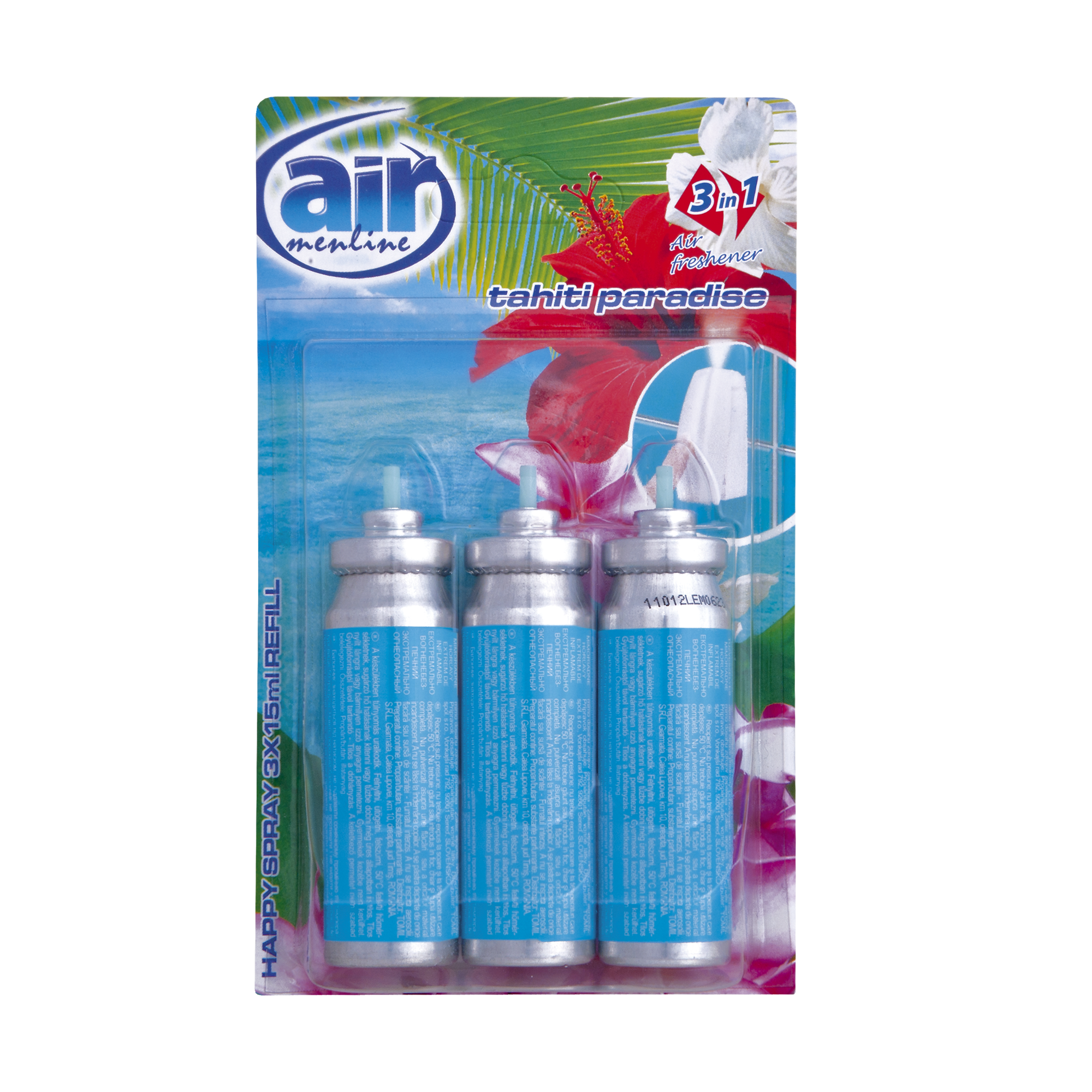Air menline pulverizatorul Happy spray Tahiti Paradise - refill