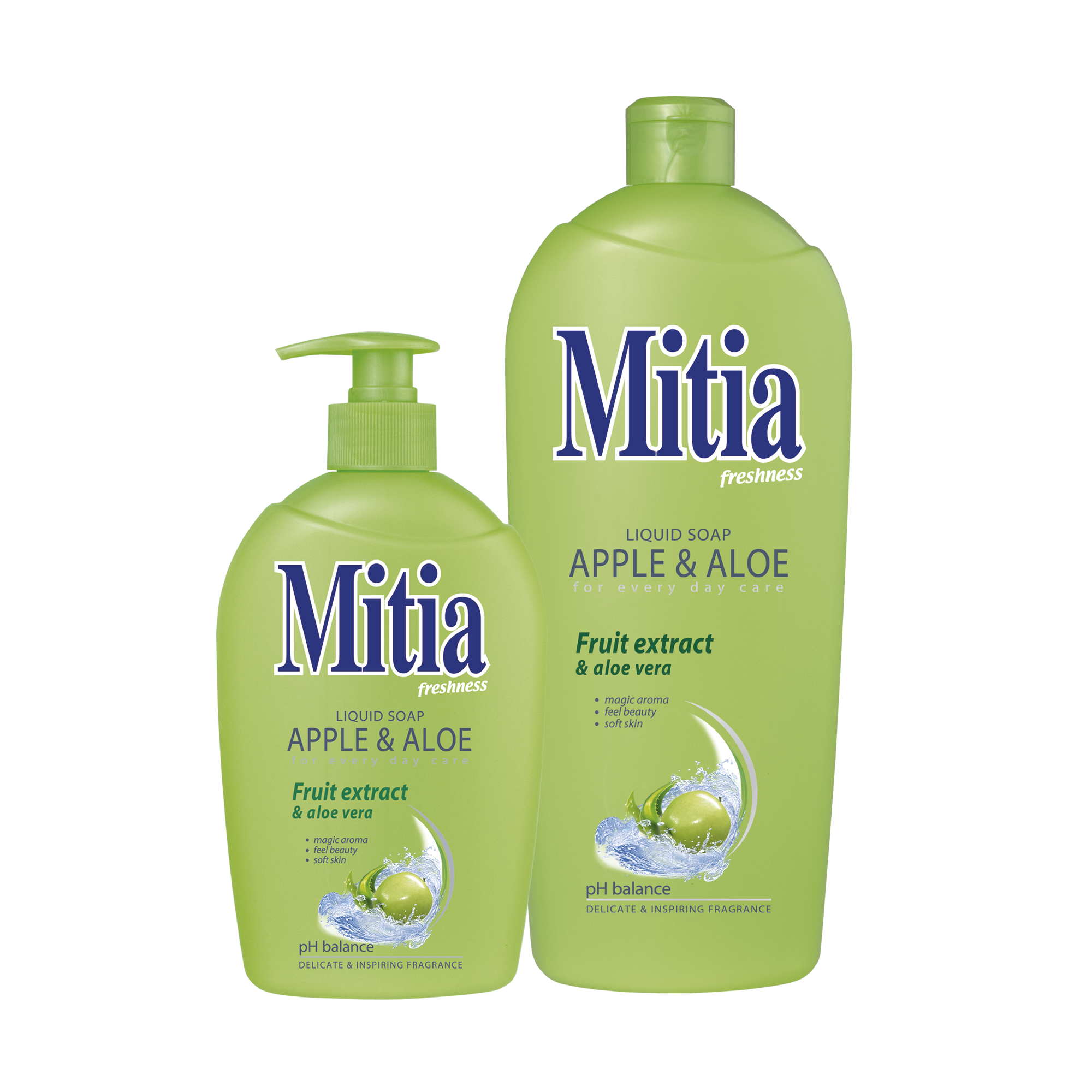 Mitia săpun lichid Apple & Aloe
