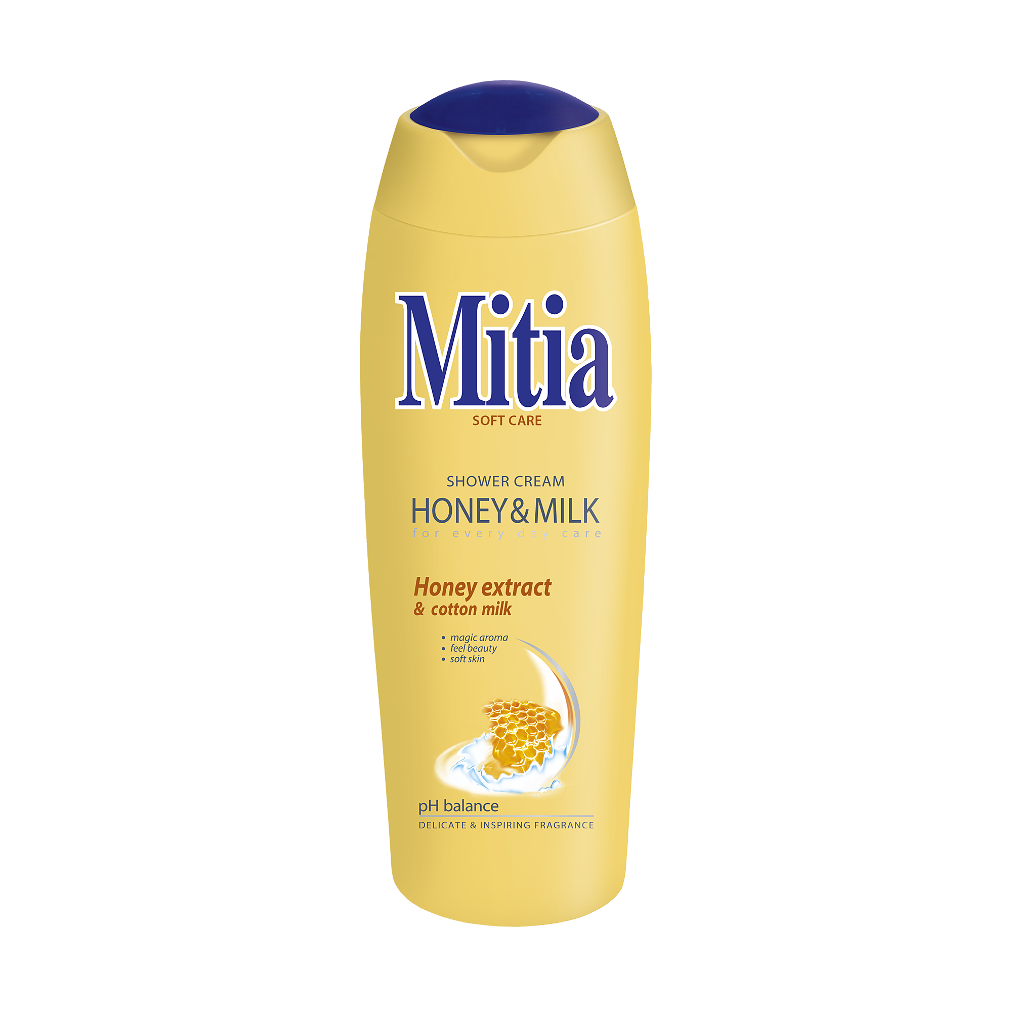 Mitia Honey milk shower gel