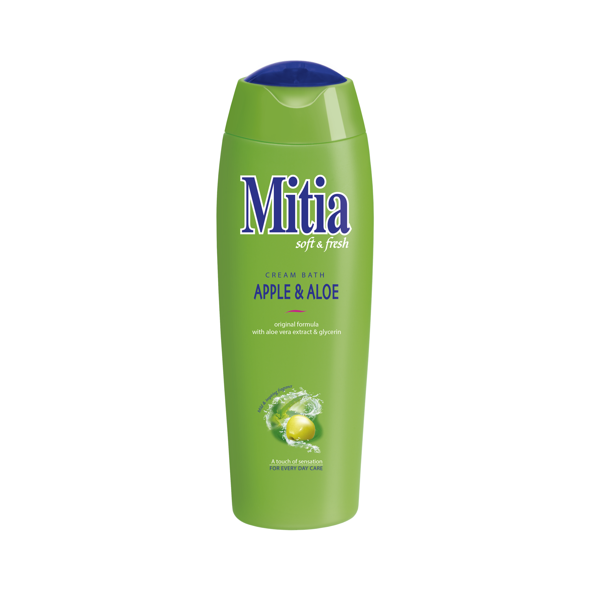 Mitia pena do kúpeľa Apple & Aloe