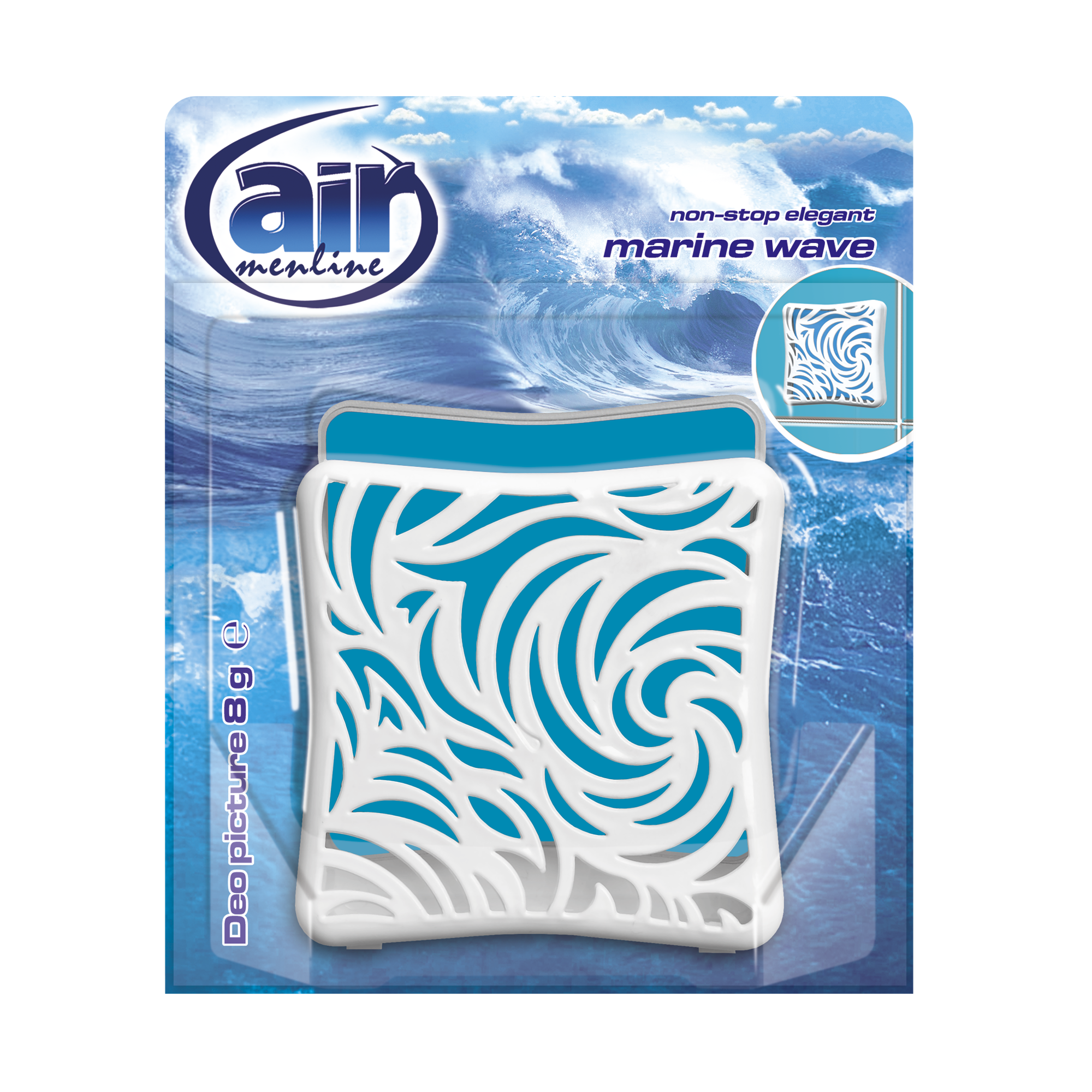 AIR menline deo picture air freshener Marine Wave