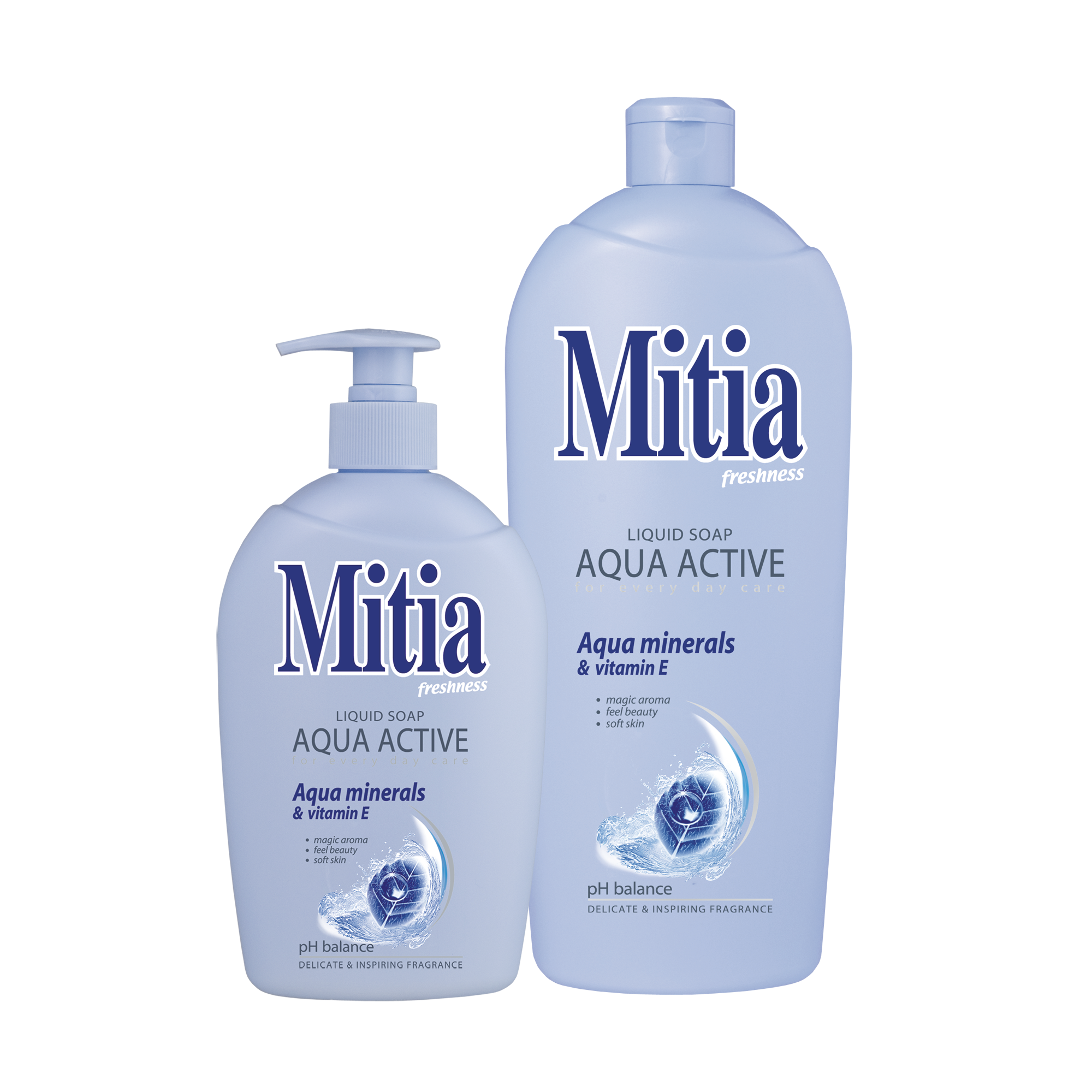 Mitia Aqua active liquid soap