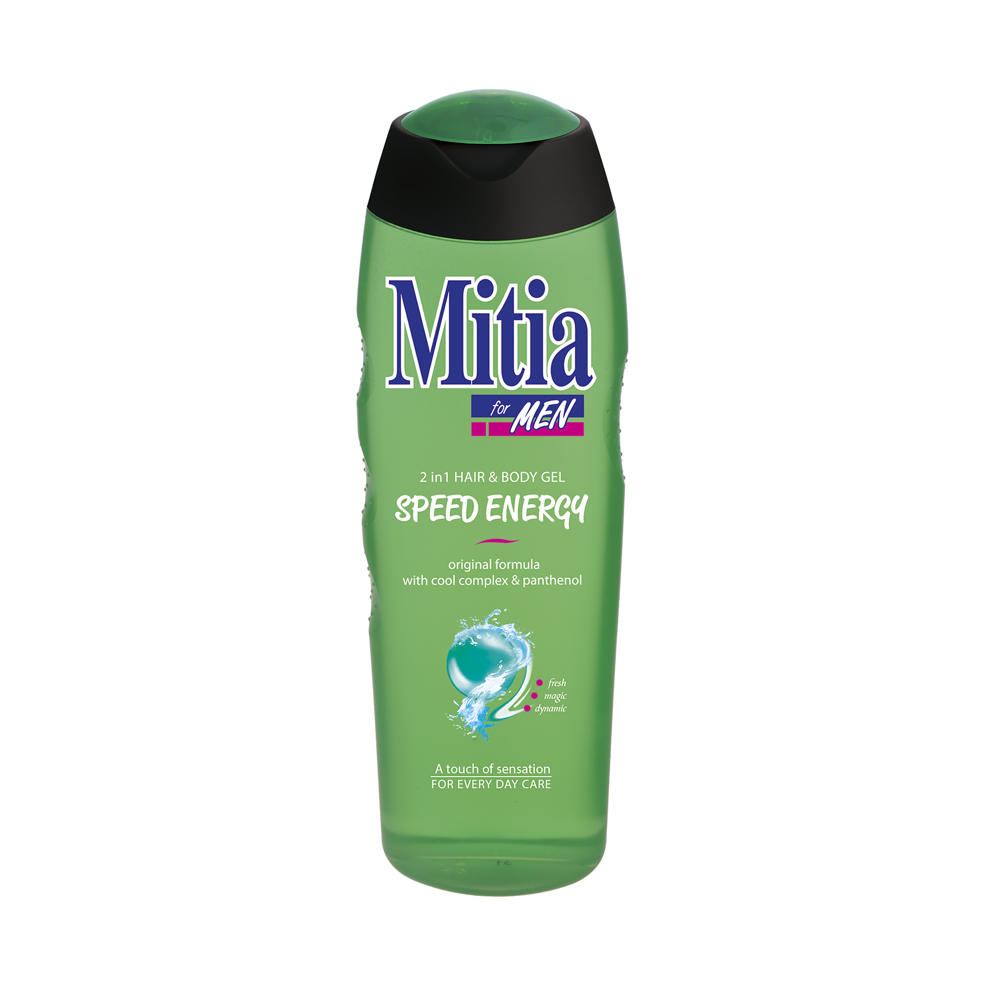 Mitia FOR MEN Speed Energy shower gel