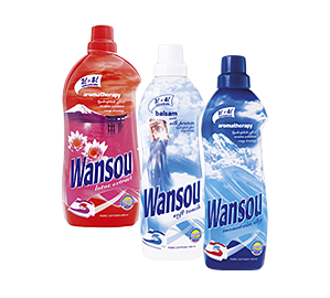Wansou concentrated fabric softeners