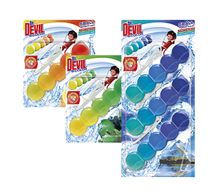 Dr. Devil WC BiCOLOR 5BALL