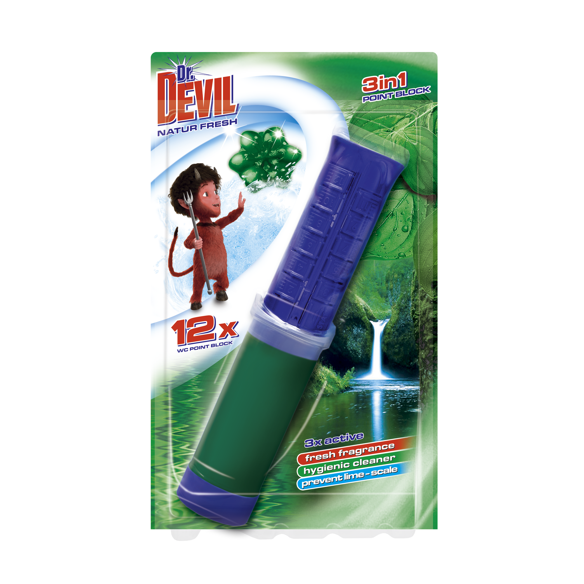 Dr. Devil 3in1 Point block Natur Fresh