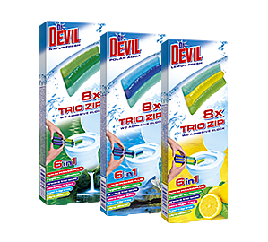 Dr. Devil 6в1 Trio zip WC block