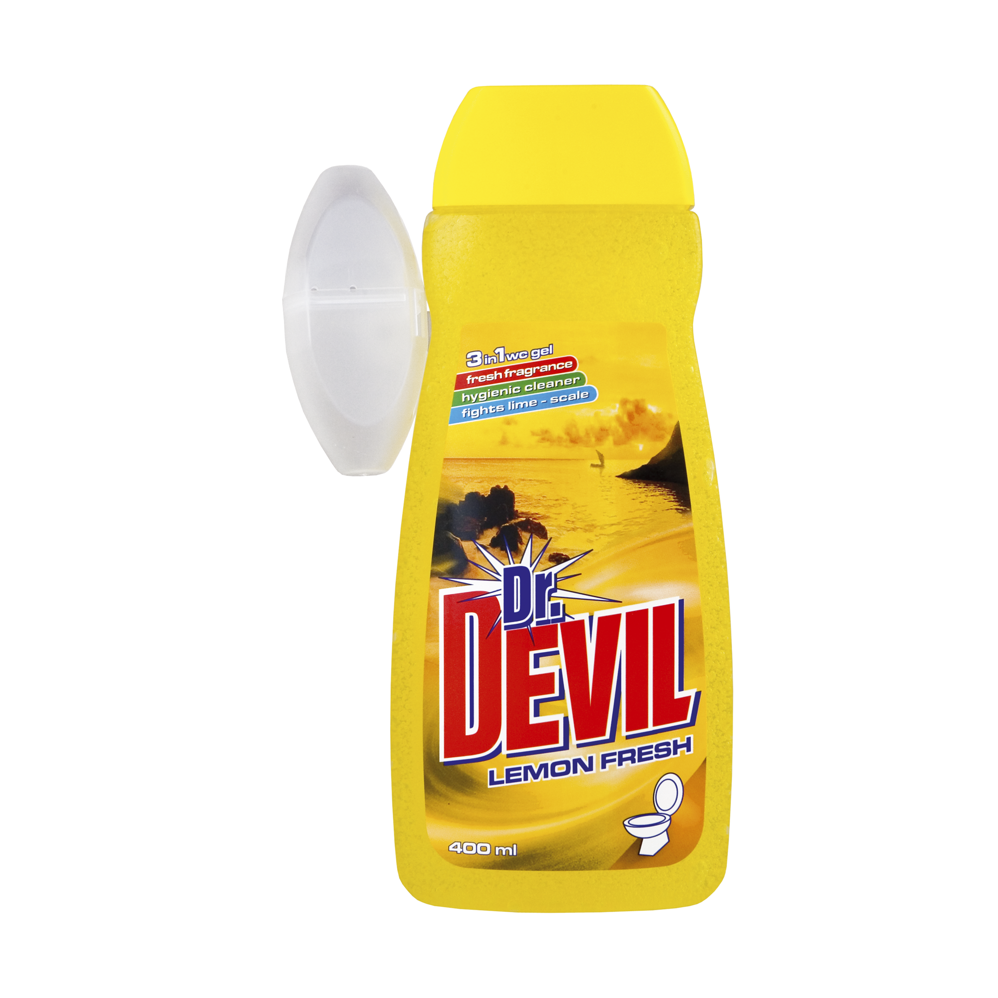 Dr. Devil tekutý WC gel Lemon Fresh 3v1