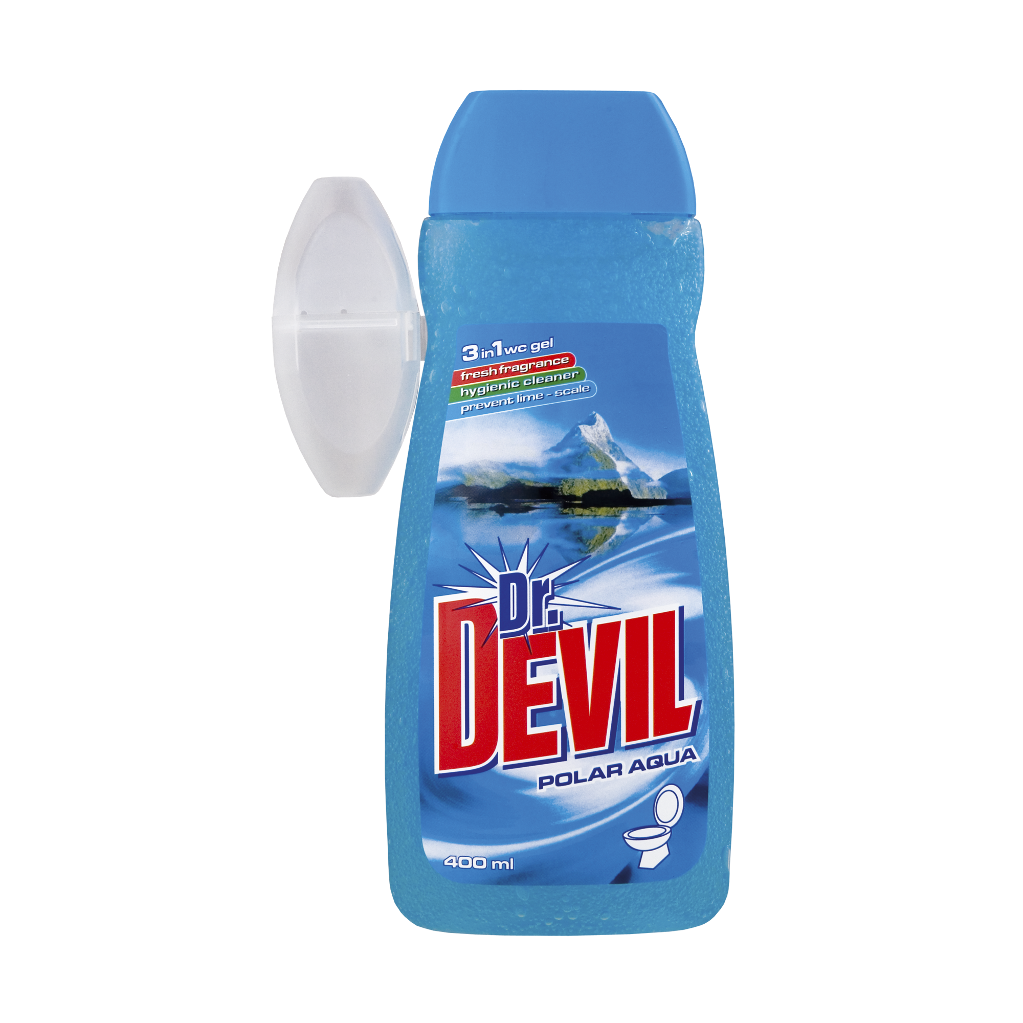 Dr. Devil tekutý WC gel Polar Aqua 3v1